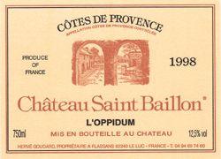 Château St Baillon, Provence