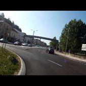Goldwing Unsersbande COIMBRA - On quitte la ville en passant par le pont