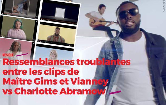 Ressemblances troublantes entre les clips de Maître Gims et Vianney vs Charlotte Abramow #copie