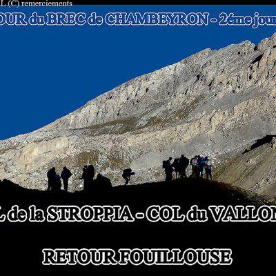 COL du VALLONET - VALLON du VALLONET - FOUILLOUSE - UBAYE
