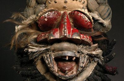 Guere We masque guerrier - Libéria