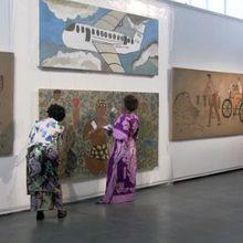 Art mural par les femmes de Makwacha (RDC) #2