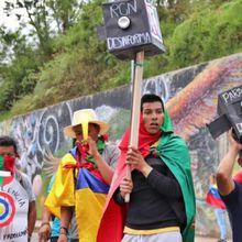 Répression dans le Sud Ouest de la Colombie