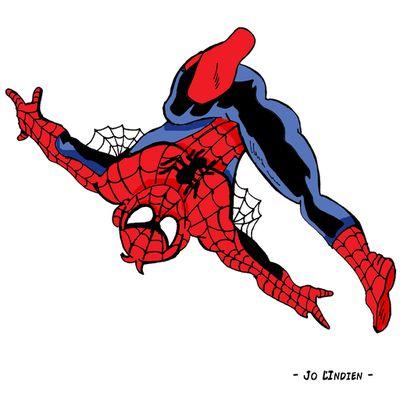 Detournement Jo 84 - Spiderman