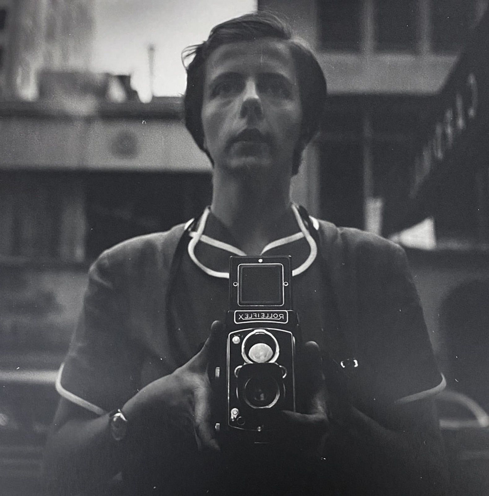 """Self-portrait, New York, NY"", 1954 de Vivian MAIER - Courtesy Les Douches la Galerie Paris"