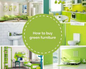 How to buy green furniture