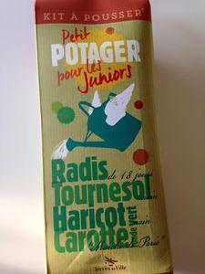 On jardine avec le Petit Potager pour les Juniors de Terres de Ville !