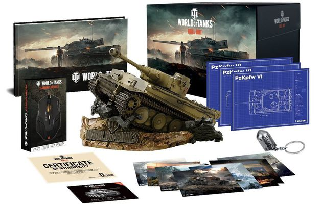 [ACTUALITE] World Of Tanks - Un collector chez Just For Games le 26 octobre 2018