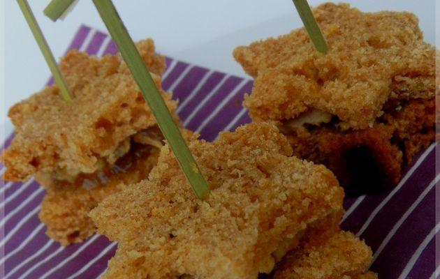 Les bouchées pain d'épices, foie gras & confit de figues