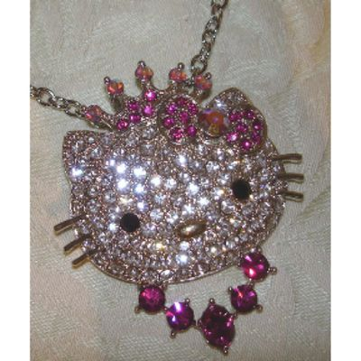 Swarowski Hello Kitty Kette *MUSTHAVE*