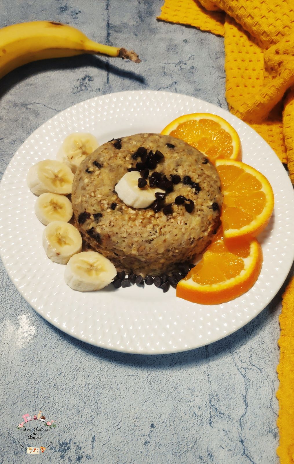 Bowlcake banane et chocolat