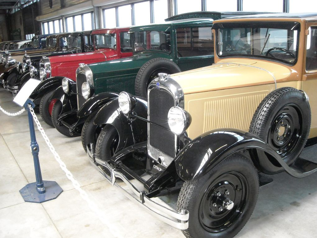Visite du Conservatoire Citroën à Aulnay sous bois (93)