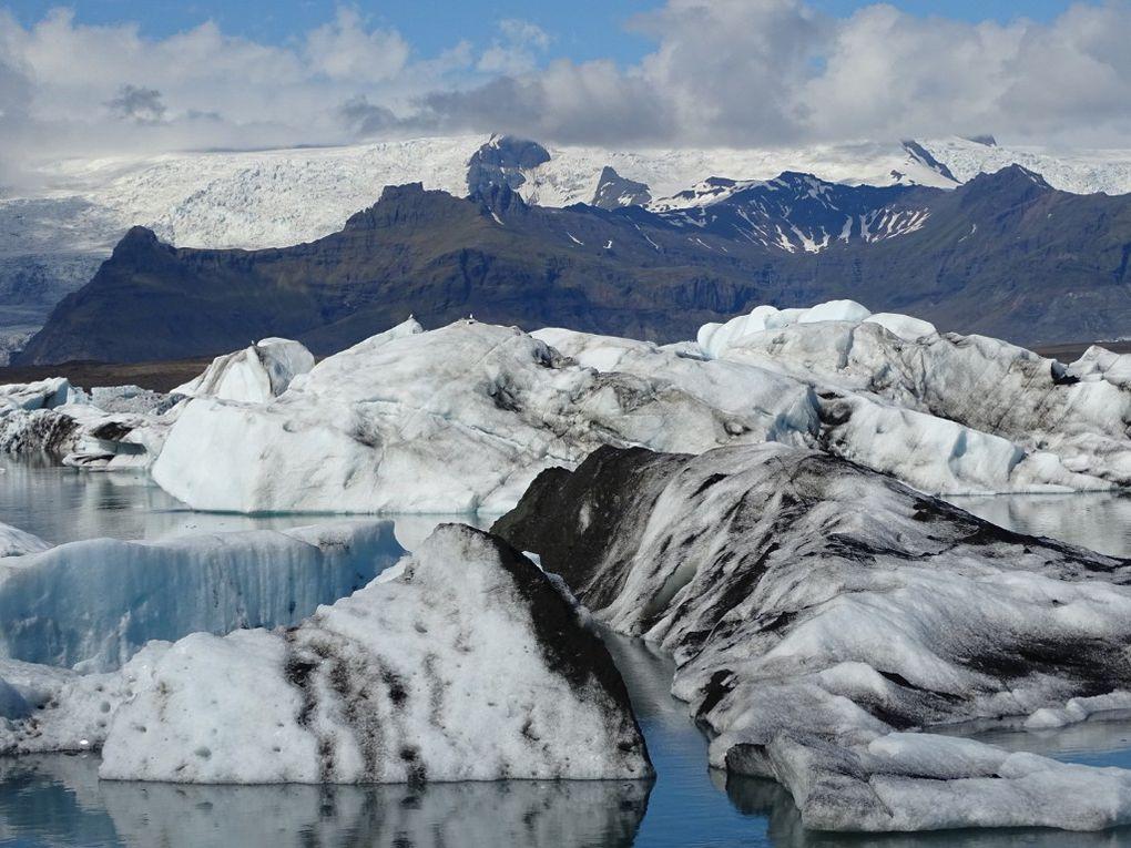 Islande...9... Glaçons millénaires...