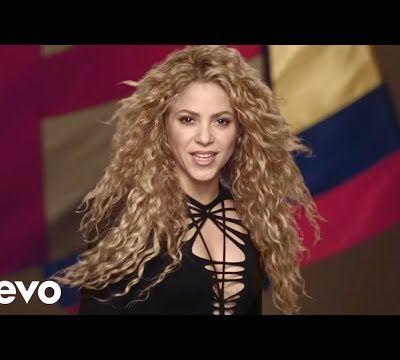 Shakira yashyize hanze indirimbo y'Igikombe cy'Isi - Brasil 2014
