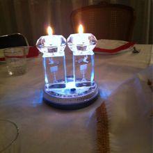 Lumières magiques de Chabbat, chez Myriam..