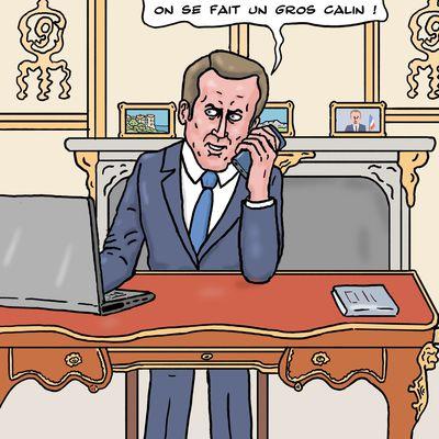 Le téléphone de Macron espionné