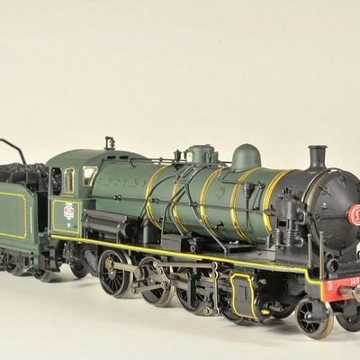 Collection de locomotives en HO
