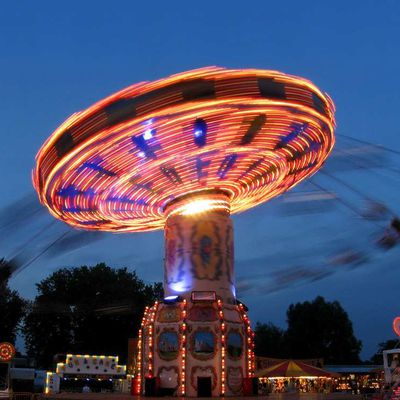 There are numerous kinds of carnival rides