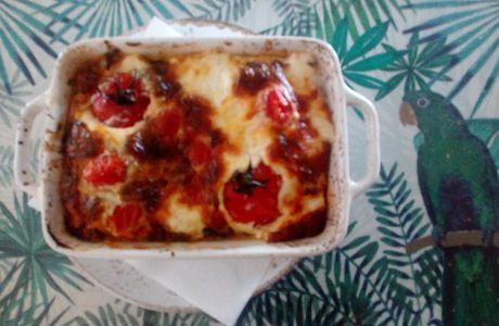 Clafoutis aux tomates cerises 🍅
