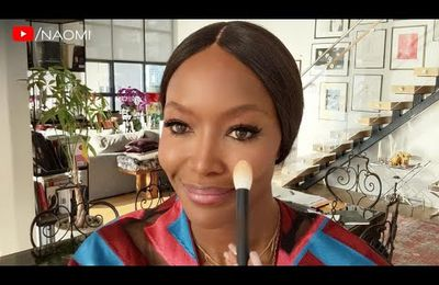 Naomi Campbell's 5-minute Beauty Routine