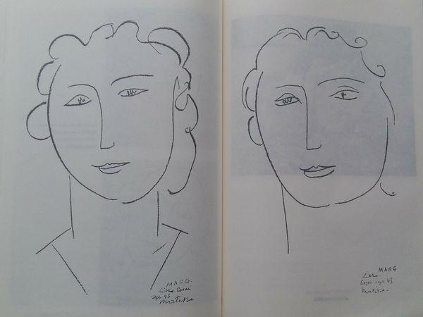 """""""Marguerite Duthuit"""" lithographies, 1945"""