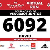 [26/04/2020 au 29/04/2020] EDP Rock'n'Roll Madrid Virtual Run - Mes expériences sportives