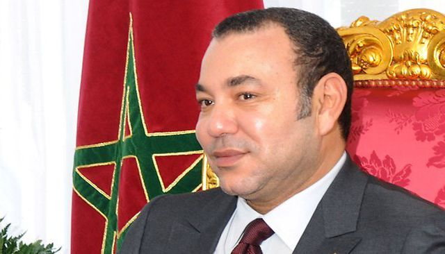 King Mohammed VI(6) of Morocco. Alaouite Dynasty.