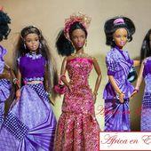 "Las ""reinas de África"", las muñecas negras para sustituír a Barbie. - El Muni"