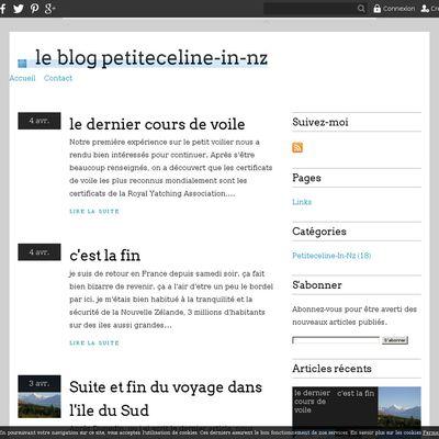 le blog petiteceline-in-nz