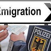 """Les Allemands quittent l'Allemagne """" en masse """""""