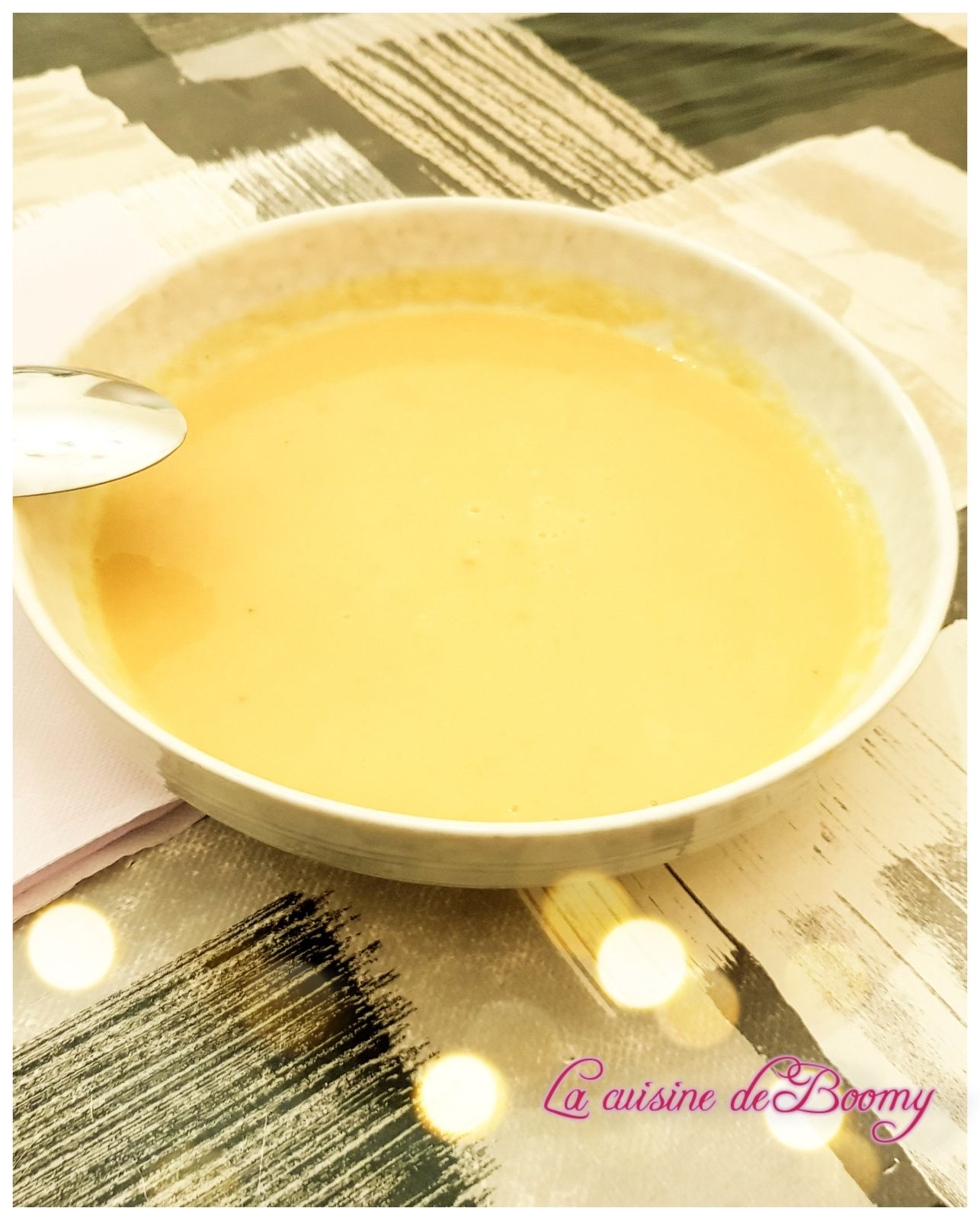 Velouté de courge butternut (I-Cook'in)
