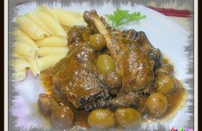 canard aux olives confites a la mijoteuse