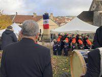Quelques photos des cérémonies du 11 novembre 2018 à Selongey, Marcilly-sur-Tille et enfin Is-sur-Tille