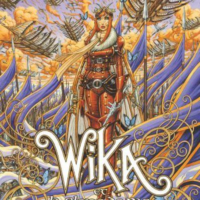 Wika, tome 3 : Wika et la gloire de Pan d'Olivier ledroit et Thomas Day