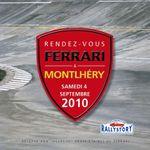 Meeting FERRARI on the Paris Autodrome september 2010