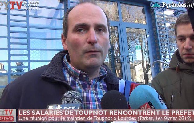 Les salariés de Toupnot rencontrent le Préfet (1er fév 19) | HPyTv La Télé des Pyrénées