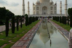 J2 : Samedi 16 juillet 2011 – Agra, le Taj Mahal