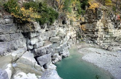 L'eau tiède du Toulourenc
