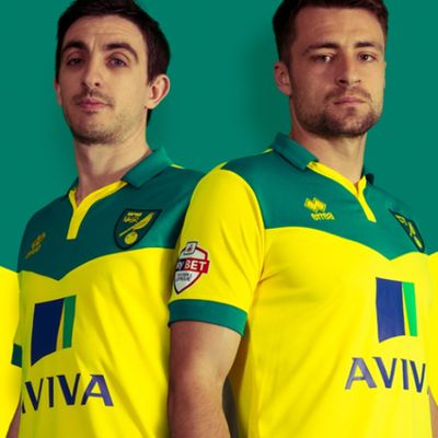 Nueva Norwich City Home Kit 14/15-equipacionesdefutbol2014.es