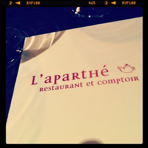 L'Aparthé © Versailles in my pocket