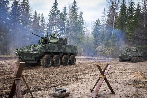 Le VBCI 3030  de Nexter et John Cockerill Defense