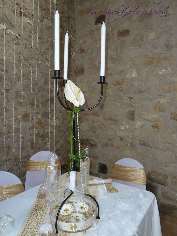 Art floral spécial mariage... Bouquets pour la mariée, centres de tables d'honneur, centre de tables d'invités, pour un mariage réussi et l'assurance de faire plaisir