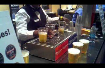 Comment servir des bières le plus rapidement possible ?