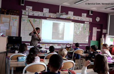 Printemps des Poètes 2018 dans les écoles de Verneuil-sur-Seine