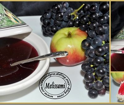 Grape and Apple Jam