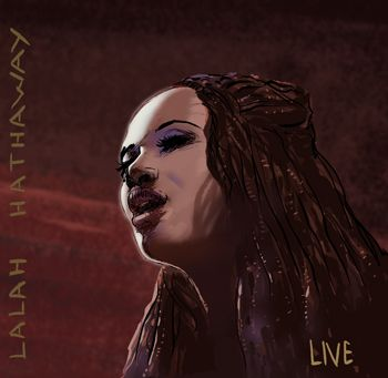 Lalah Hathaway, musique, dessin, illustration, singer, chanteuse, a song for you