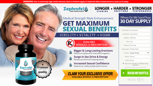 Zephrofel South Africa- Is This Male Enhancement Worth It?