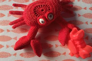 the serial crocheteuses & more n° 590 : crustacés