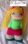 comfort doll knitted