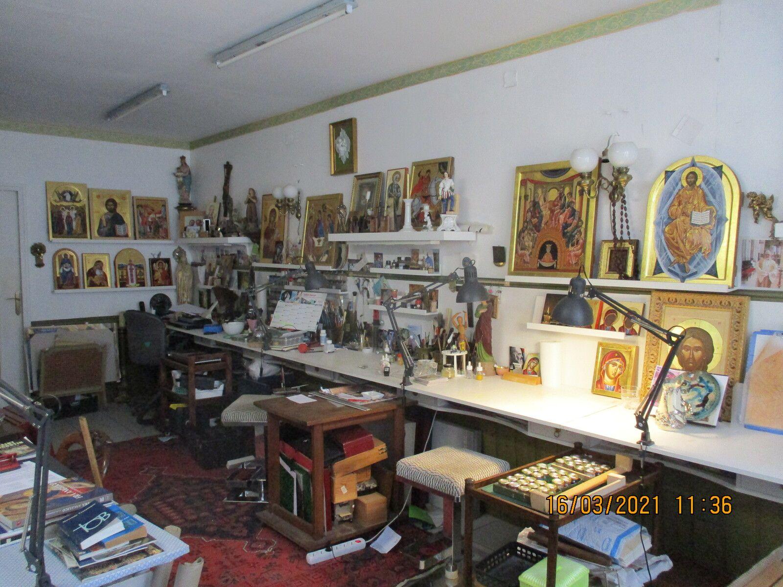 créations icônes a notre atelier a  l ile bouchard  37220